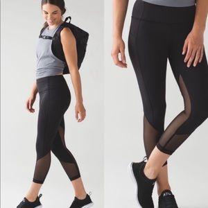 Lululemon Pace Rival Marathon Crop leggings